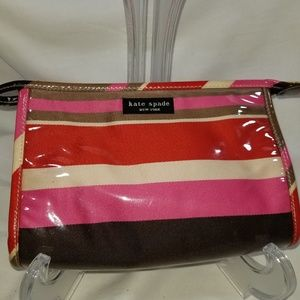 Kate Spade Cosmetic Makeup Case Bag